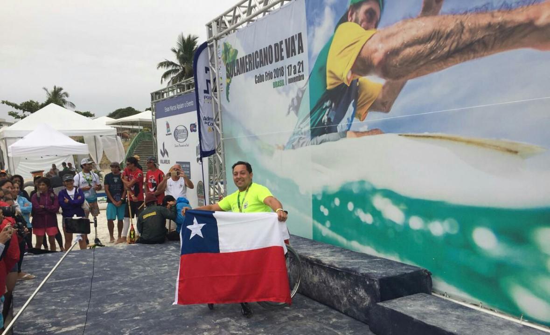 Franco Gutiérrez, deportista de kayak y canoa polinésica