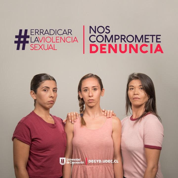 Universidad de Concepción lanzó campaña que busca erradicar la violencia de género