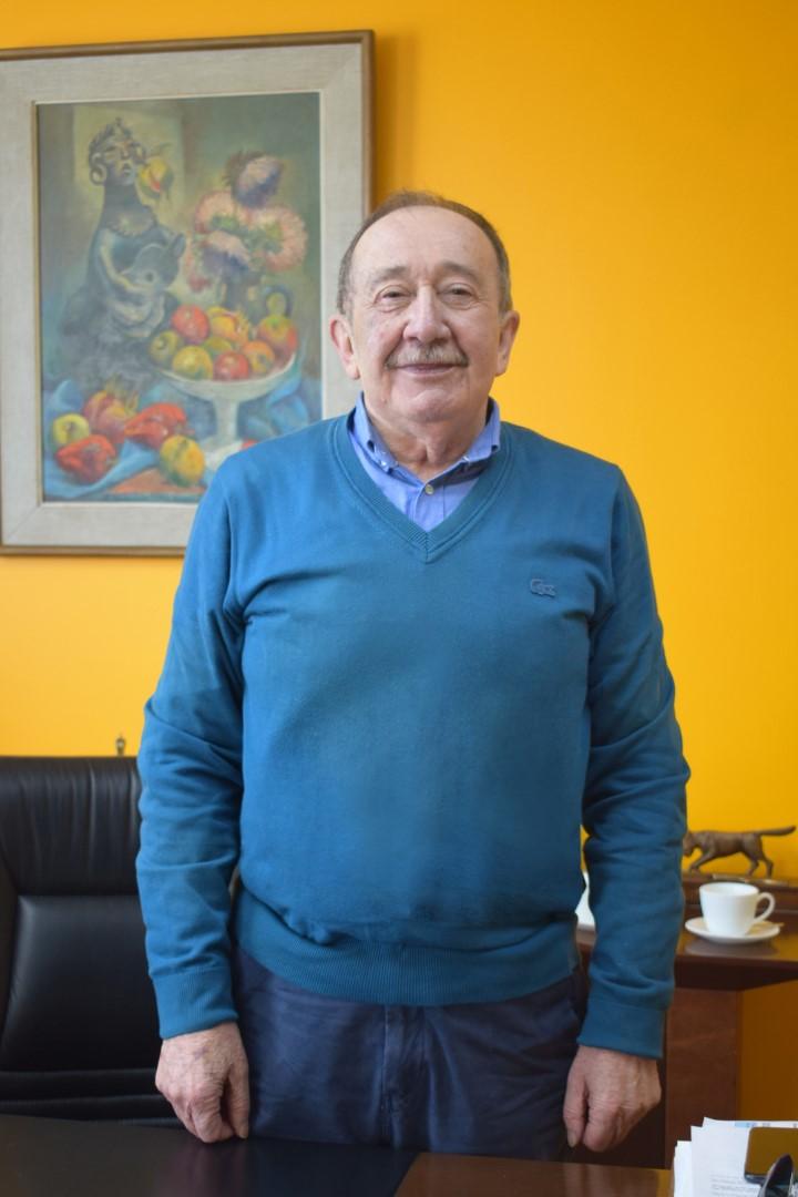 Roberto Parada, propietario de Copramar y Hotel Parada Linares