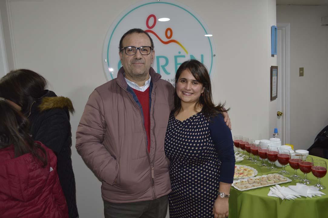 Gabriel Mora y Gabriela Mora