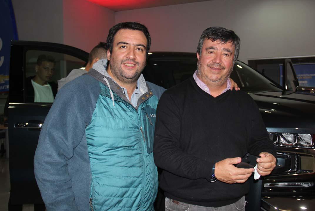 Claudio Orellana y Gabriel Orellana