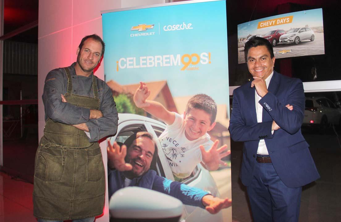 Cristian Correa y Rodrigo Riveros