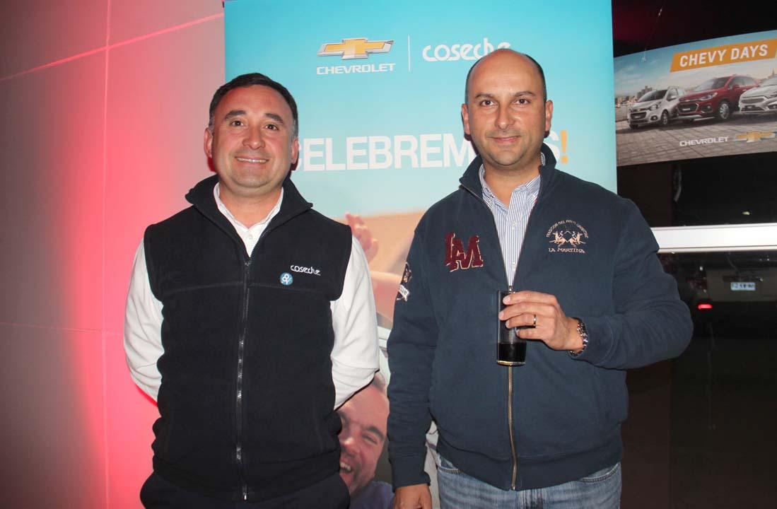 Marco Canales y Roberto Sobarzo