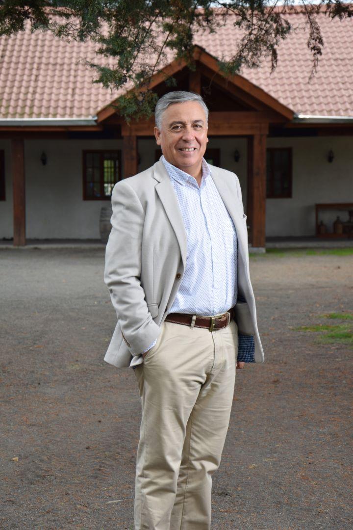 Heladio Pardo Olate, gerente general Mahel Cía. Limitada, Ingeniería & Servicios