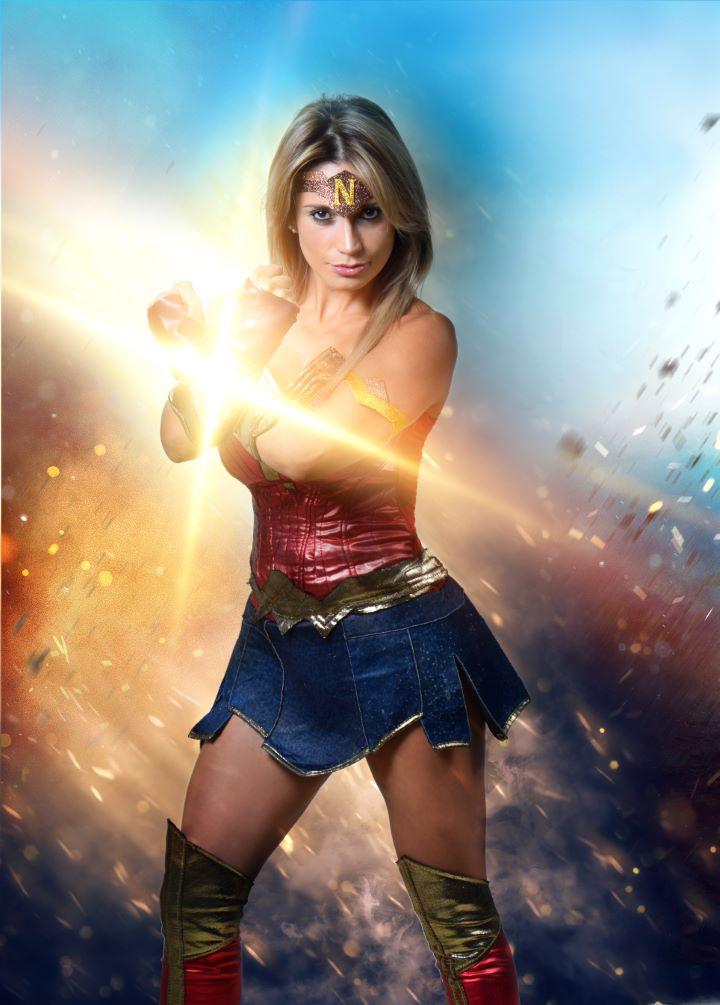 Natalie Kairath es la Mujer Maravilla