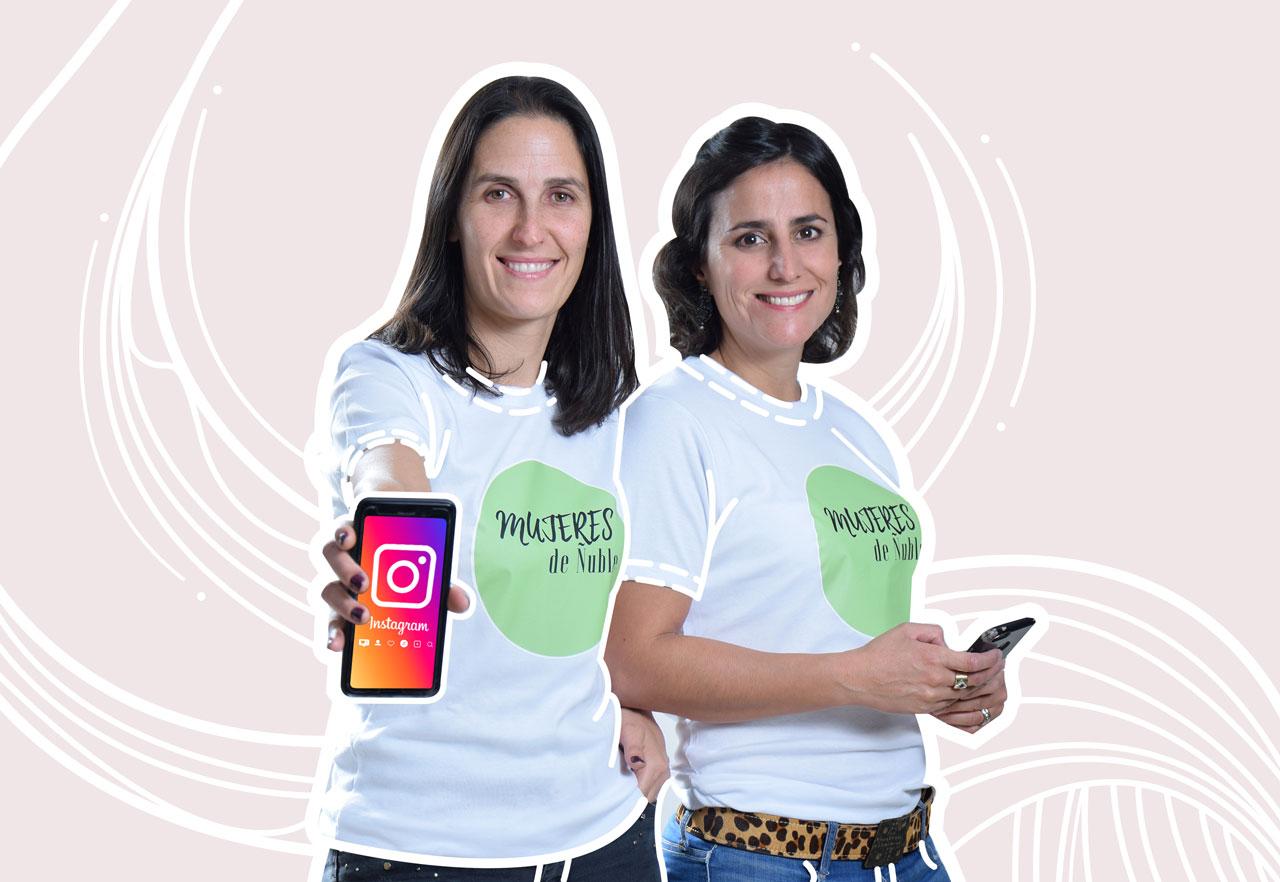 Daniela Carlin y María de Los Ángeles Loyola. Las mujeres de Ñuble