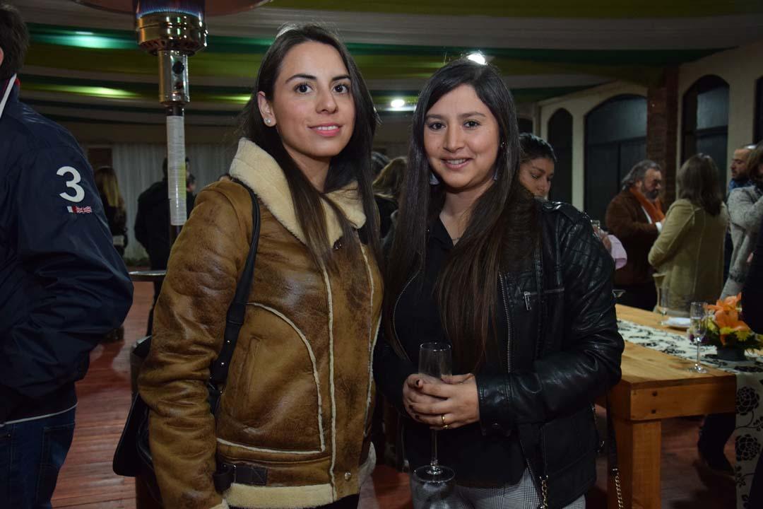 Paulina Gutiérrez Arias y Lorena Opazo Utreras