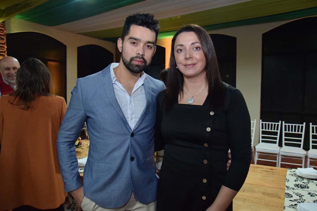 José Ignacio Caro y Leticia Reyes Acuña
