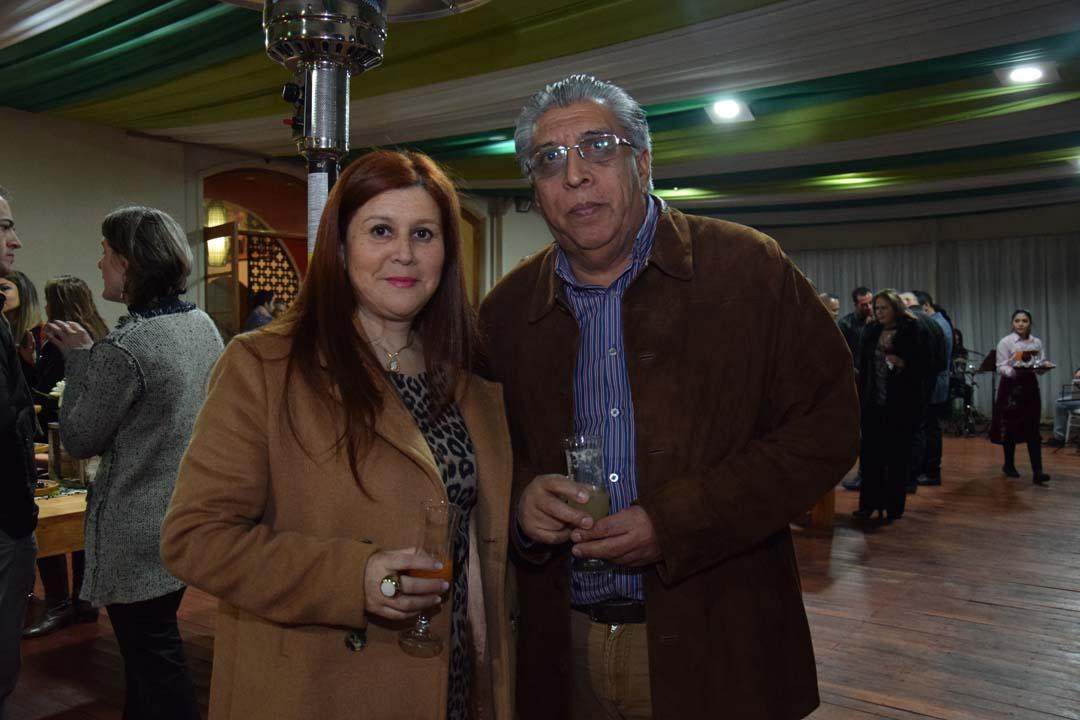 Rosa Valdebenito y Jaime Guzmán