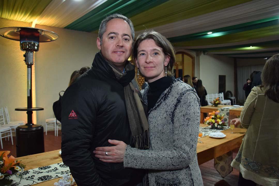 Alejandro Ulloa y Sandy Mosimann