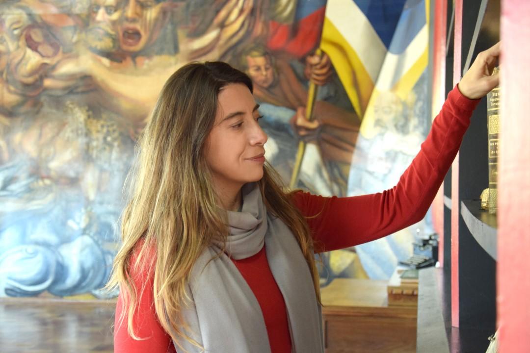Photo of María Soledad Castro, Seremi de las Culturas, las Artes y el Patrimonio