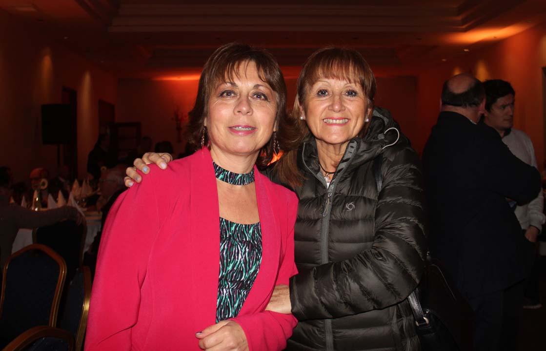 Ana María Vega y Georgina Salamanca