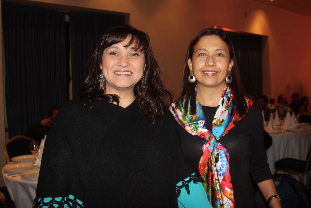 Marcela Águila y Carmen Arias
