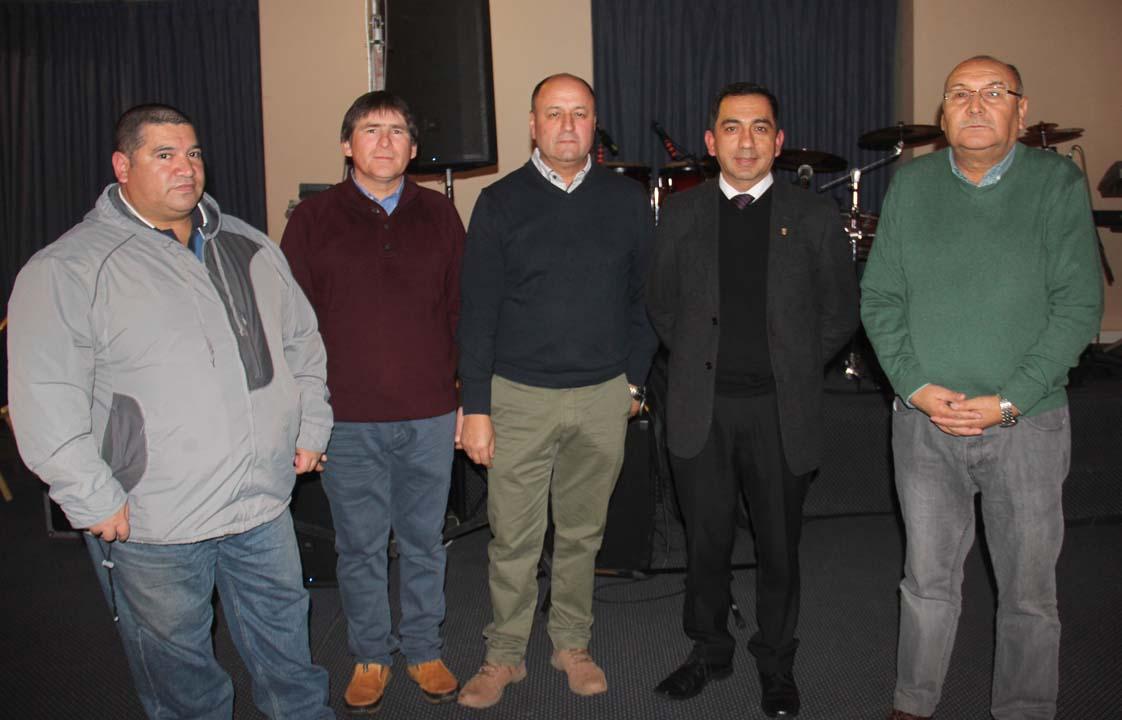 Francisco Zúñiga, Rodrigo Sepúlveda, Patricio Hernández, César Ailio y Héctor Troncoso