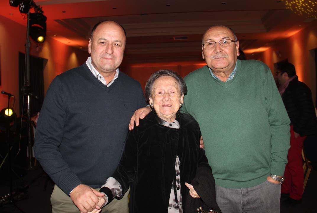 Patricio Hernández, Bersa Elgueta y Héctor Troncoso