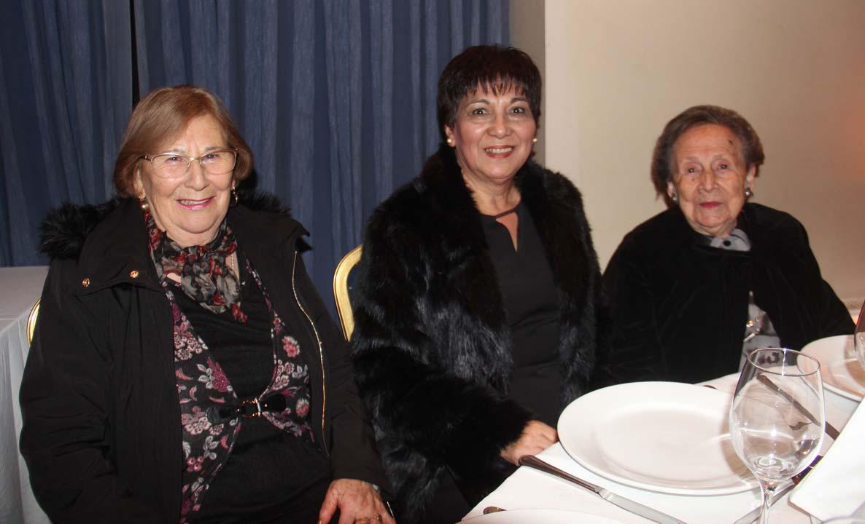 Erna Henríquez, Silvia Cerda y Bersa Elgueta