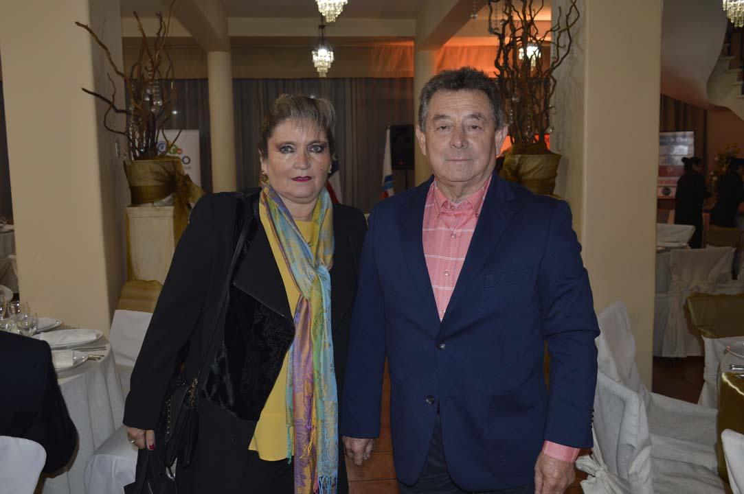 Auria Aparicio y Jorge Fuentes