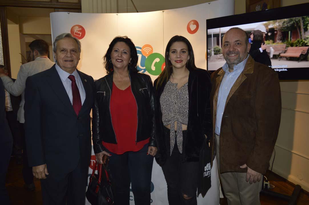 Alejandro Lama, Orietta Escrig, Paloma Ávila y Fernando Escrig