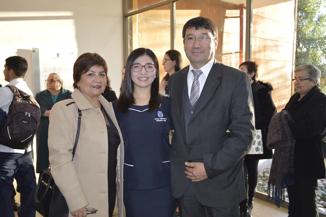 Lorena Sánchez, Javiera Contreras y Julio Contreras