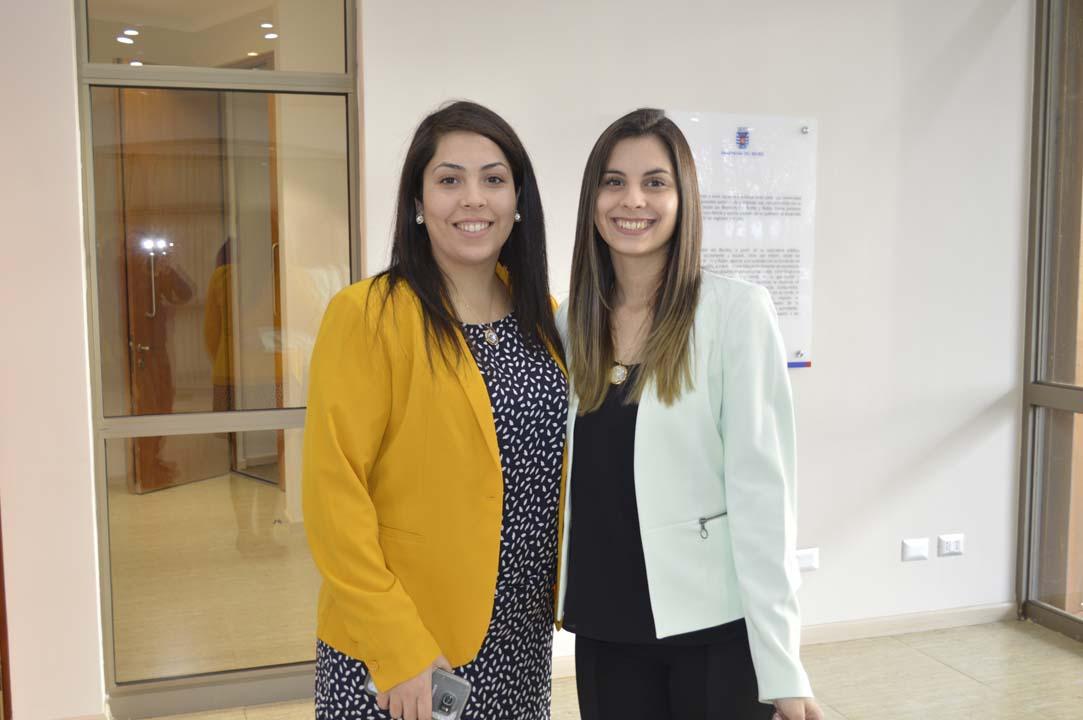 Ignacia Fernández y Nayaret Figueroa