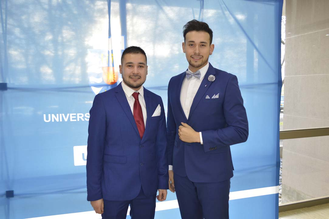 Fabián Pino y Diego Hurtado