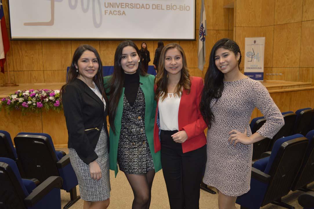 Grecia Navarrete, Belén Belmar, Camila Lara y María Paz Navarro