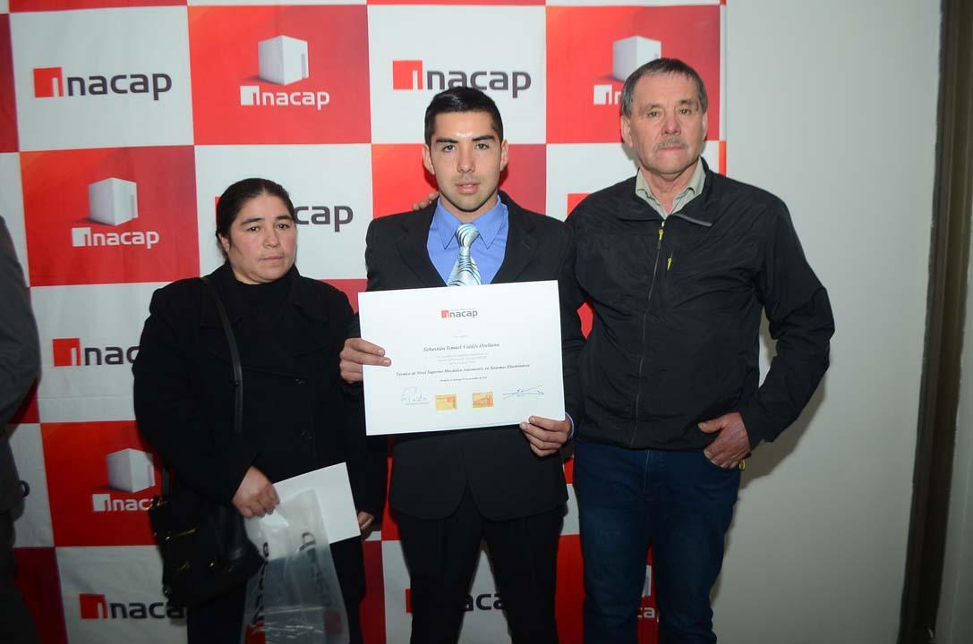 Sandra Orellana, Sebastián Valdés e Ismael Valdés