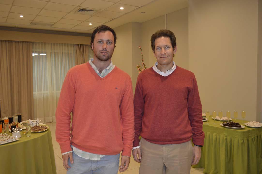 Felipe Maturana y Cristian Tagle