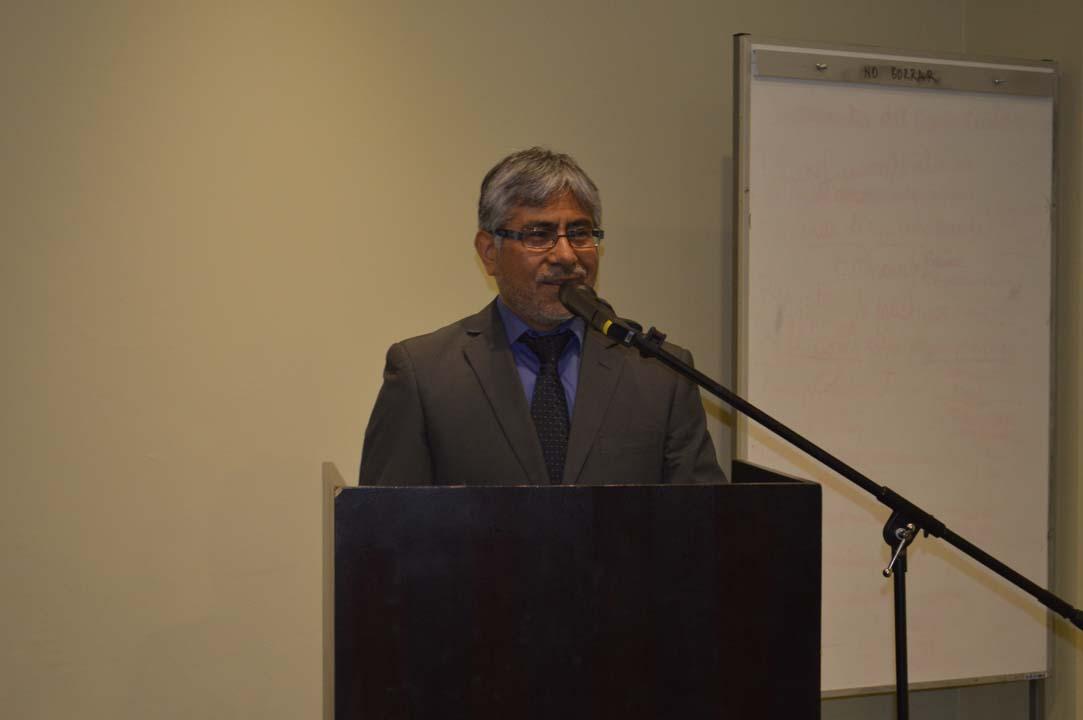 Ricardo Villalobos, Director Doctorado en Ingeniería de Alimentos UBB y Coordinador del proyecto