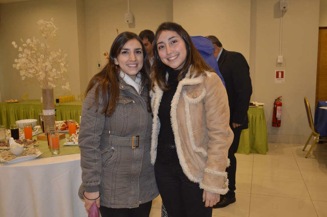 Viviana Miranda y Nicole González
