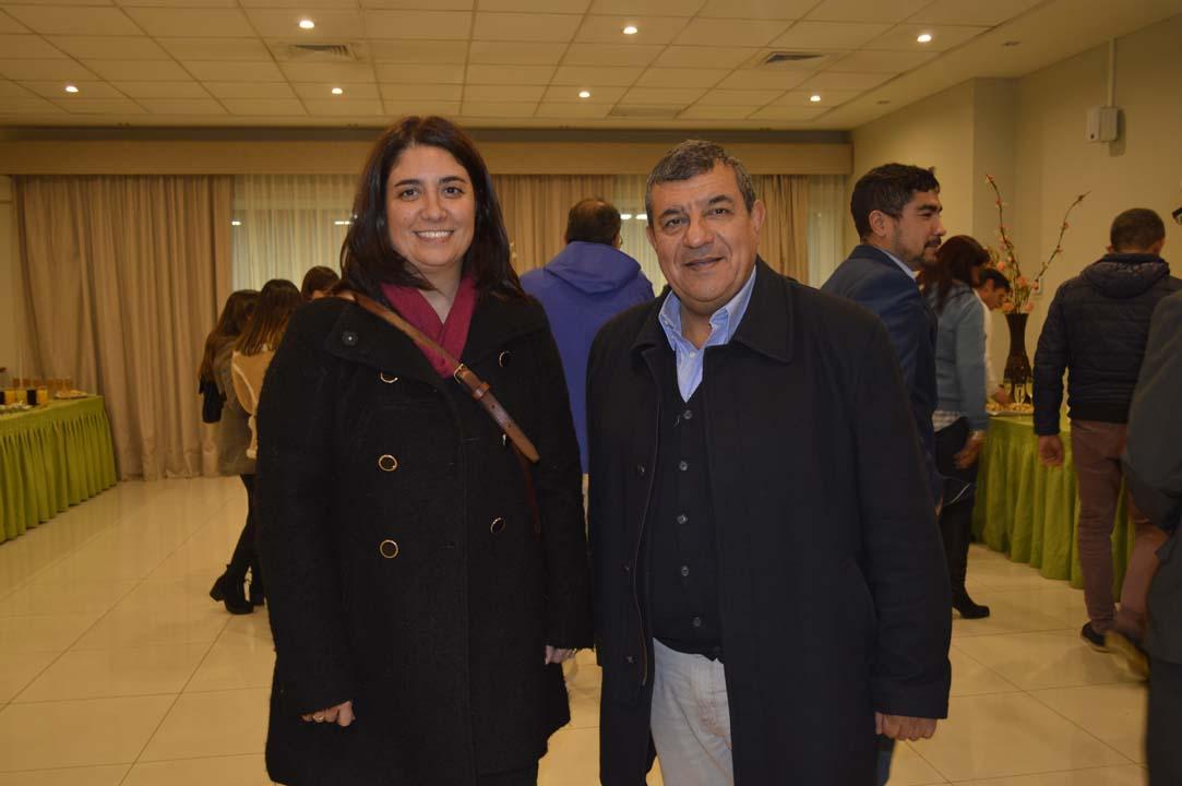 María Eugenia González y José Miguel Bastidas