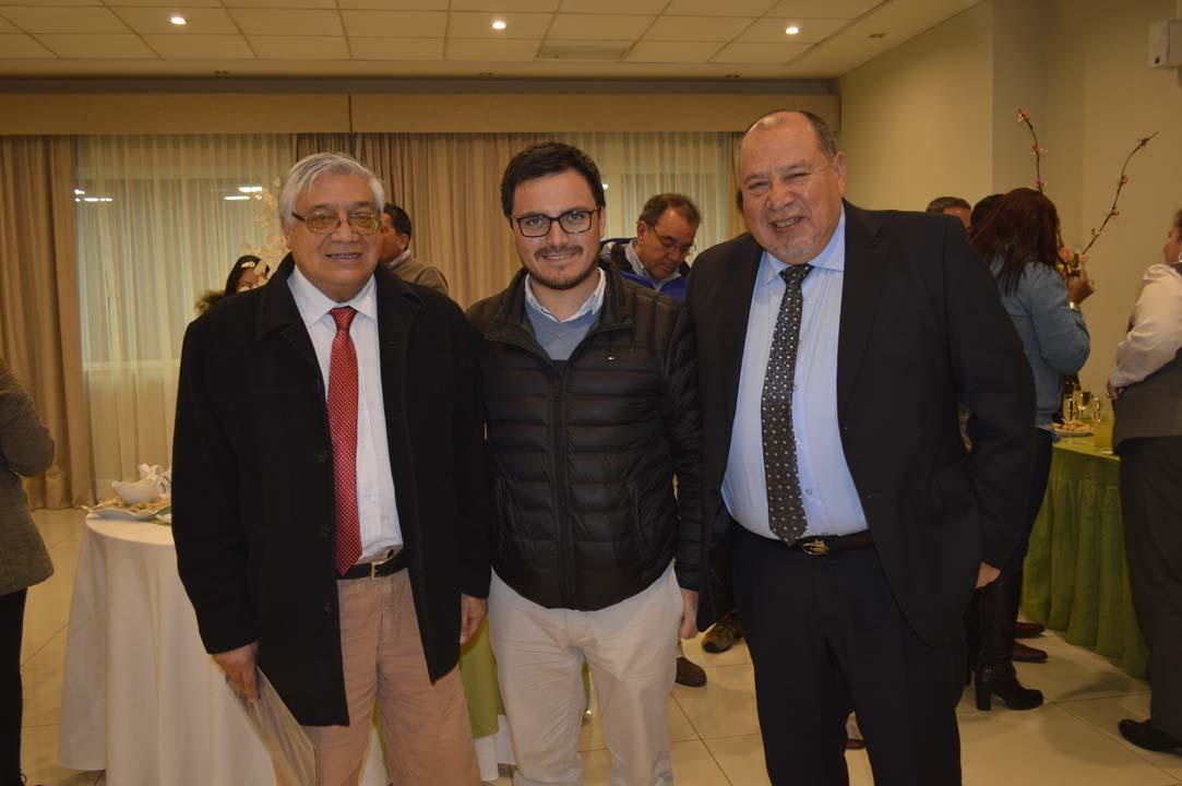 Mario Pérez, Fernando García y Domingo Sáez