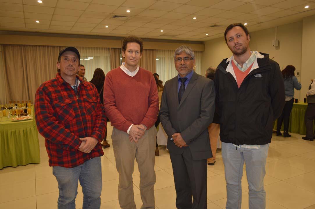 Alfonso Quiñones, Cristian Tagle, Ricardo Villalobos y Felipe Maturana
