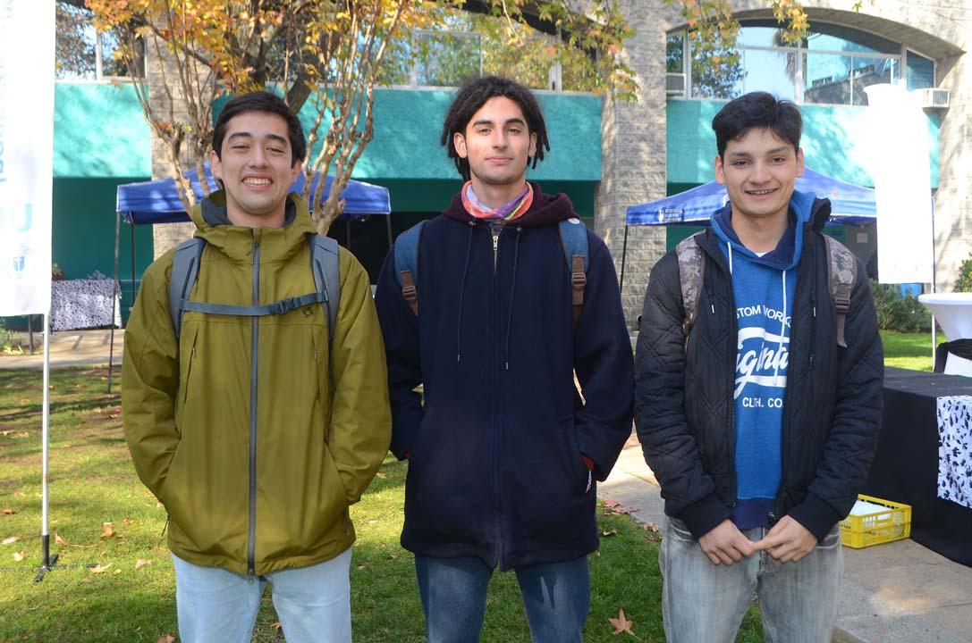 Romeo Casablanca, Roberto Delgadillo y Juan Salazar