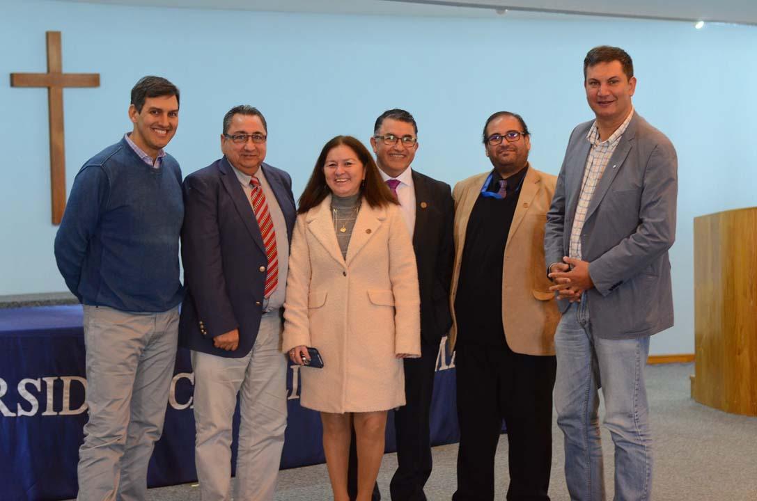 Carlos Burgos, Hernán Cabrera, Angélica Urrutia, Juan Figueroa, Paulo González y Lino Alfaro