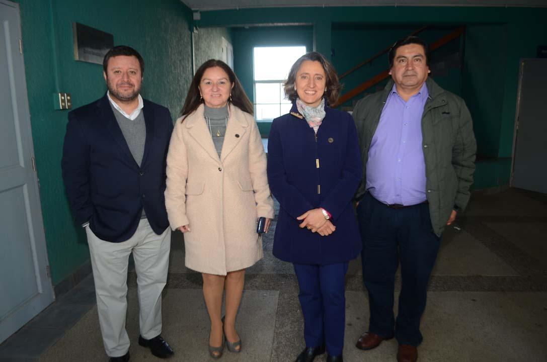 Marcos Mora, Angélica Urrutia, Mary Carmen Jarur y Marco Toranzo
