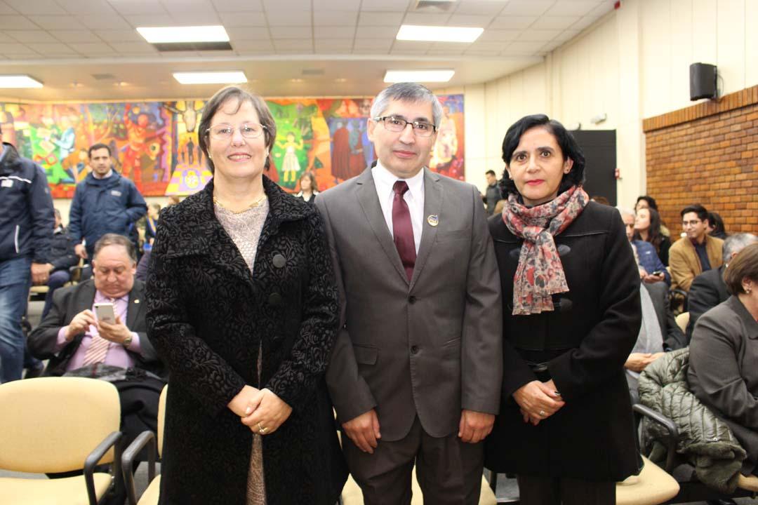 Margarita Barrandeguy, Erasmo Escobar y Angélica Arratia