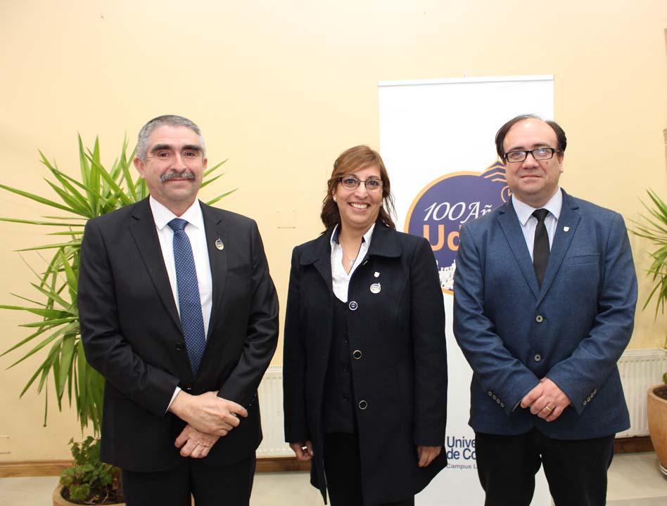 Guillermo Pereira, Sandra Salamanca y Paolo Castillo