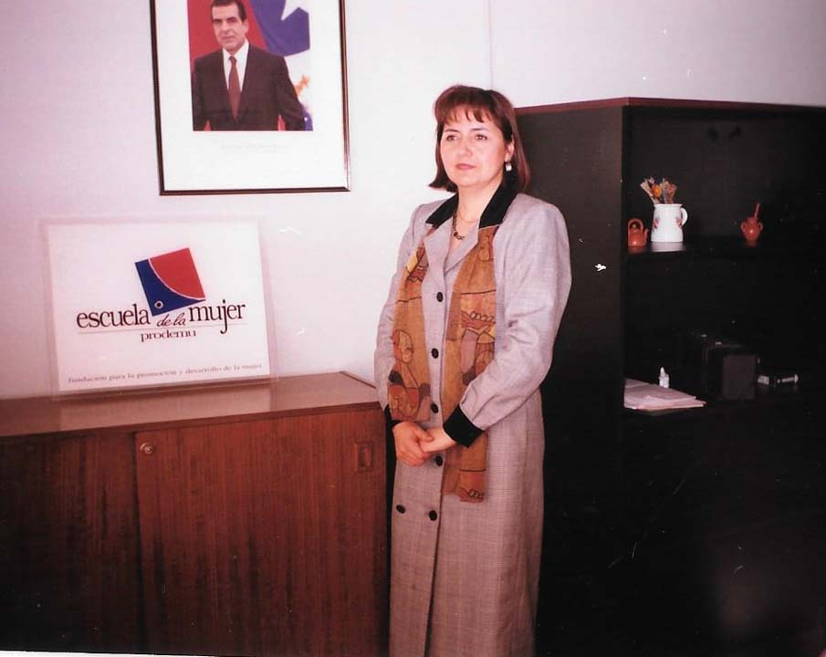 Myriam, cuando fue Directora Ejecutiva Prodemu