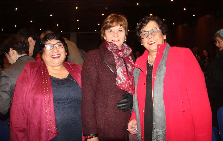 Jeanette Henríquez, Cecilia Vidal y Cecilia Henríquez