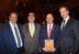 Sergio Zarzar, Carlos Abel Jarpa, Pedro Pablo Rojas y Felipe Harboe