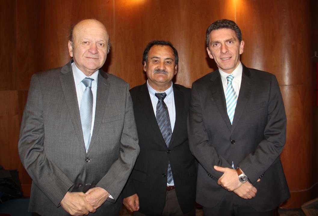 Juan López Cruz, Víctor Sepúlveda y Camilo Benavente
