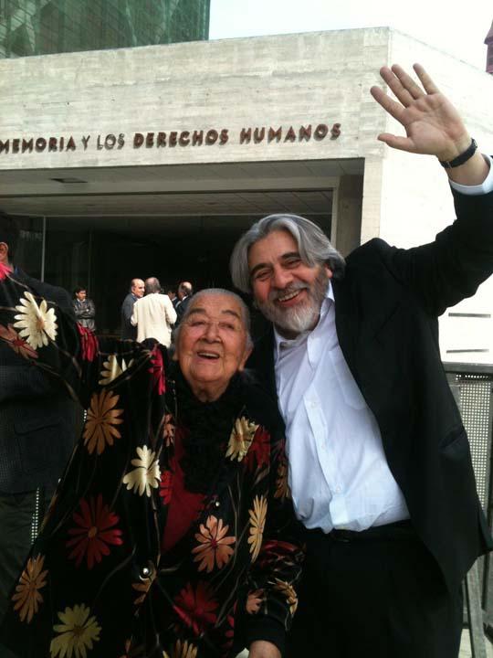 Con Ana González