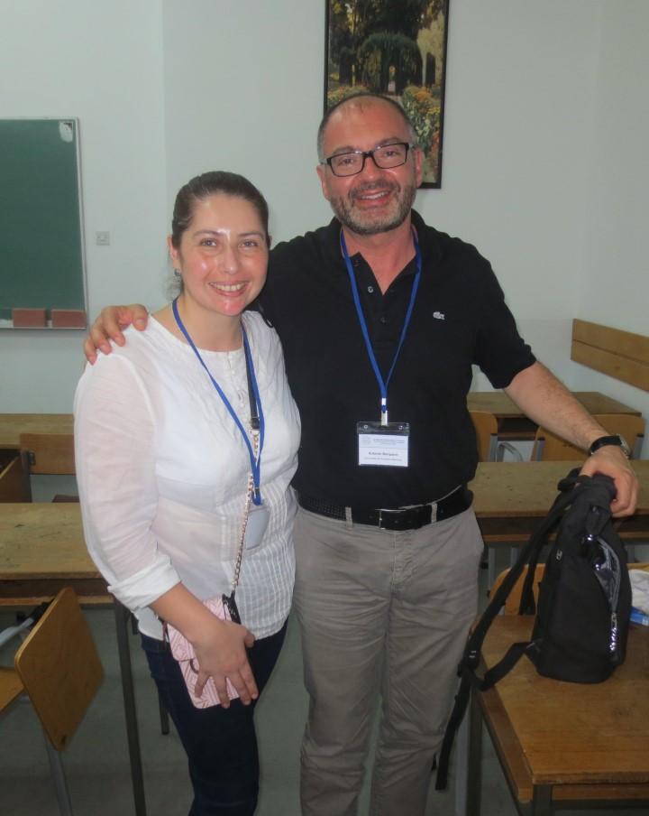 Con Antonio Barquero