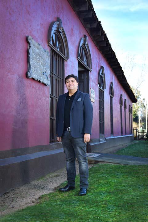 Hansel Silva Vásquez, director del museo