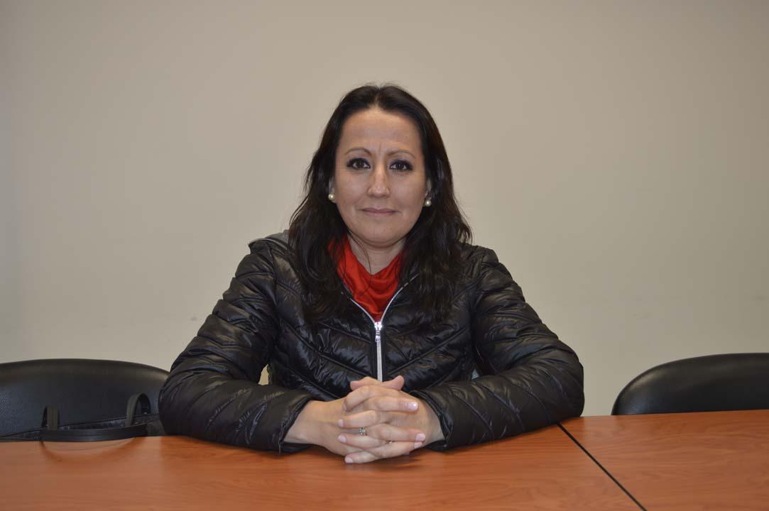 Dra. Carmen Luz Muñoz del Departamento de Enfermería