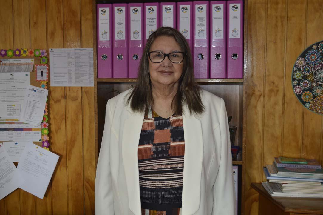 Glena Arias, representante legal