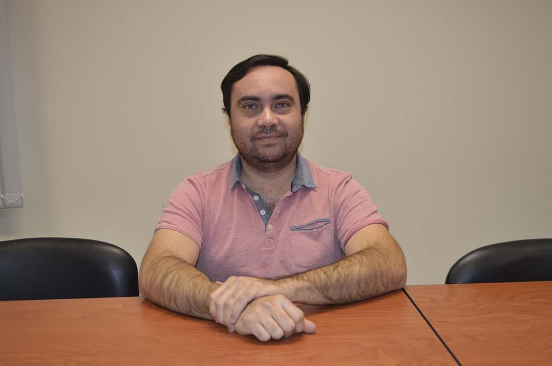 Mg. Gabriel Lagos, Departamento de Ciencias de Rehabilitación en Salud