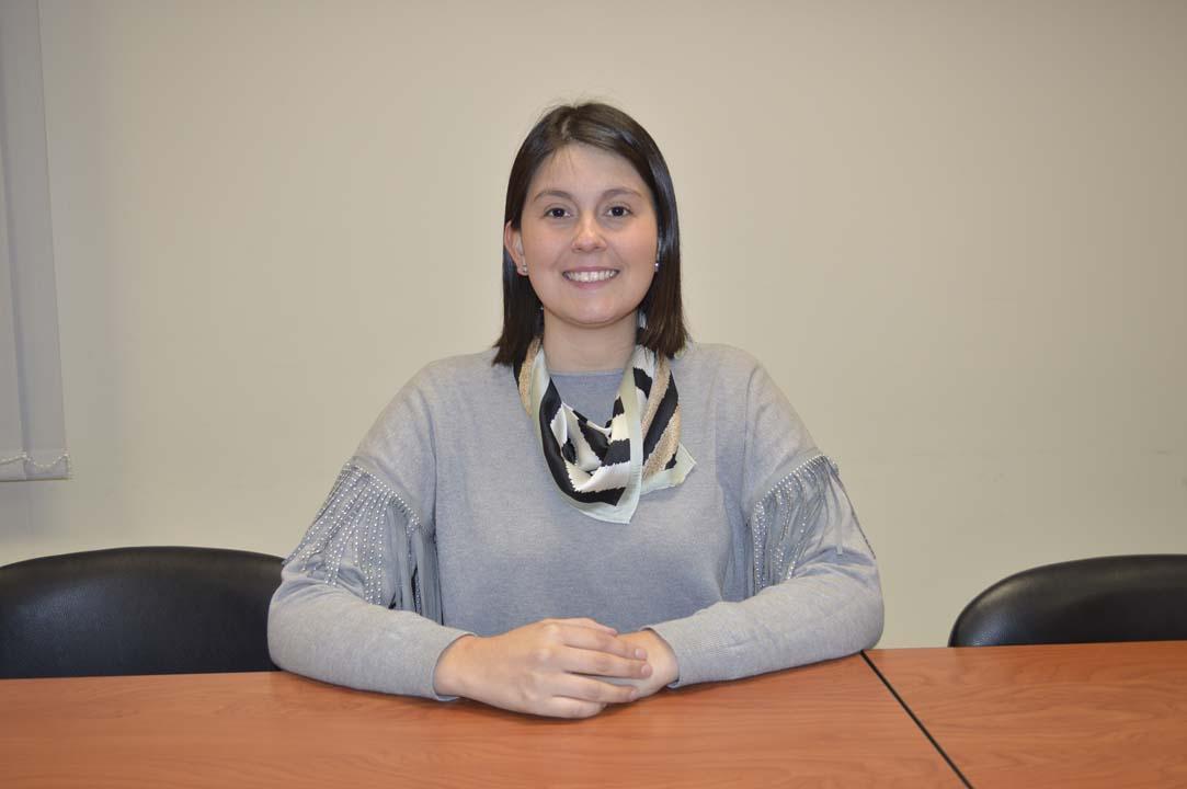 Mg. Marcela Sanhueza, Departamento de Ciencias de Rehabilitación en Salud