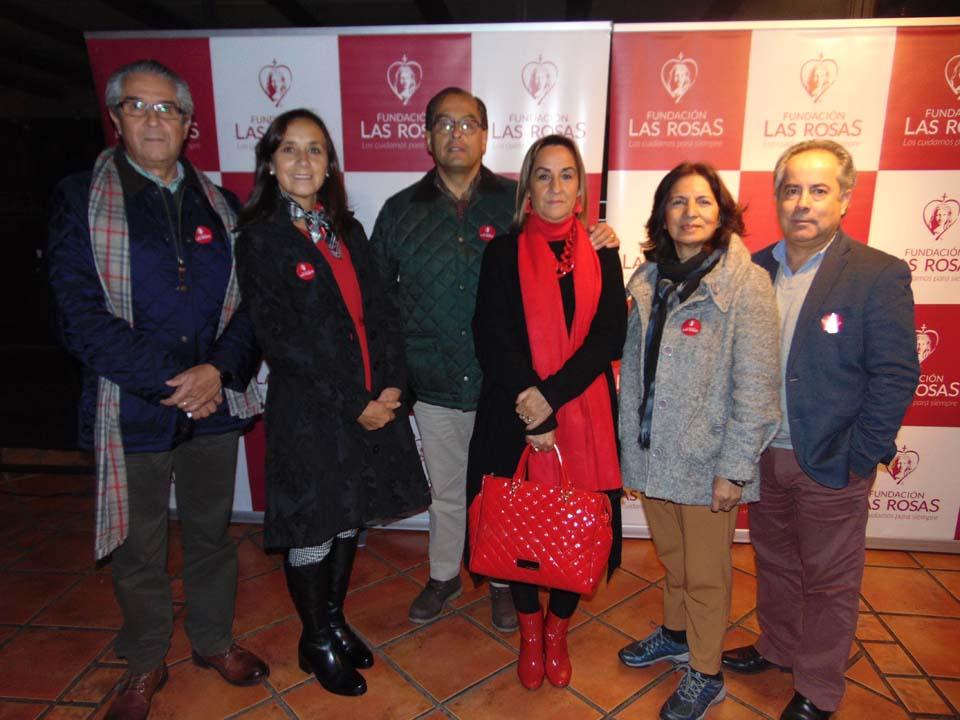 José Manuel Carrasco, María Isabel Rivera, Osvaldo Parada, Sandra Rodríguez, Patricia Herrera y Emilio Navarrete